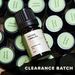 Thyme (linalol) Essential Oil (Clearance Batch)