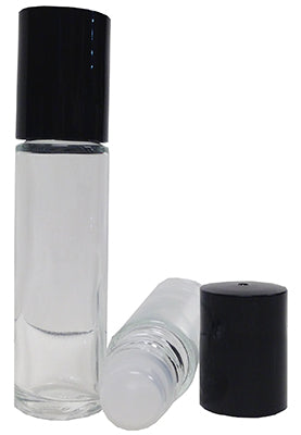 Glass Roll On Bottle (10 ml) Clear