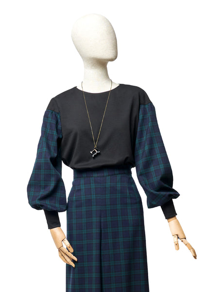Felpa Couture -Tartan Campbell - 322Couture