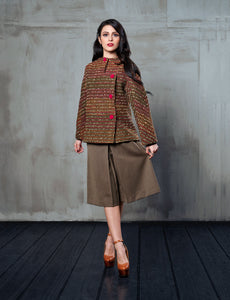 Sartoriale - Gonna Pantaloni Tweed - 322Couture