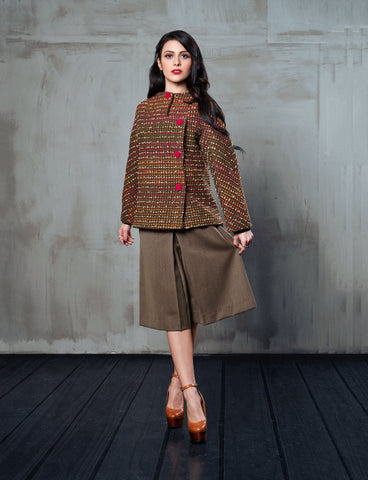 Sartoriale - Gonna Pantaloni Tweed gonna pantaloni 322Couture