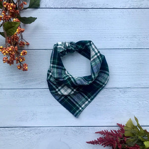 Dog Bandanna Scrunchie Set - Fraser Fir