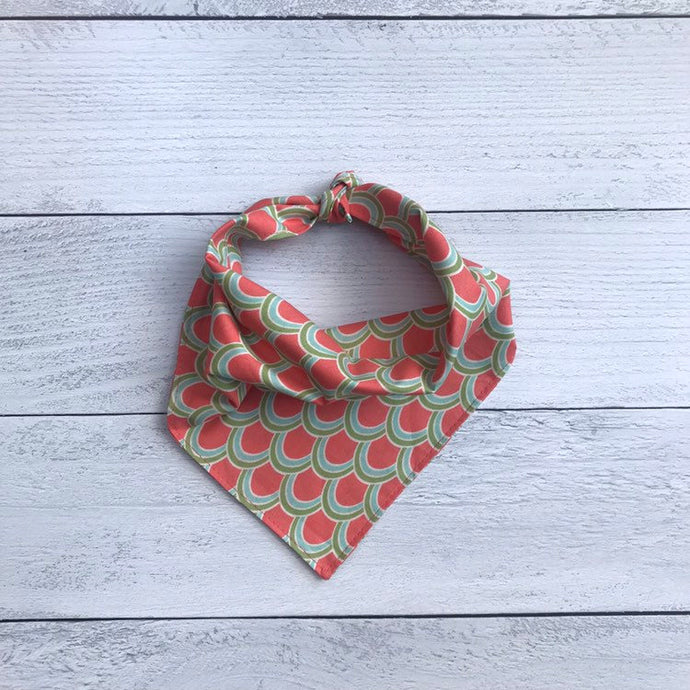 Scalloped Dog Bandana