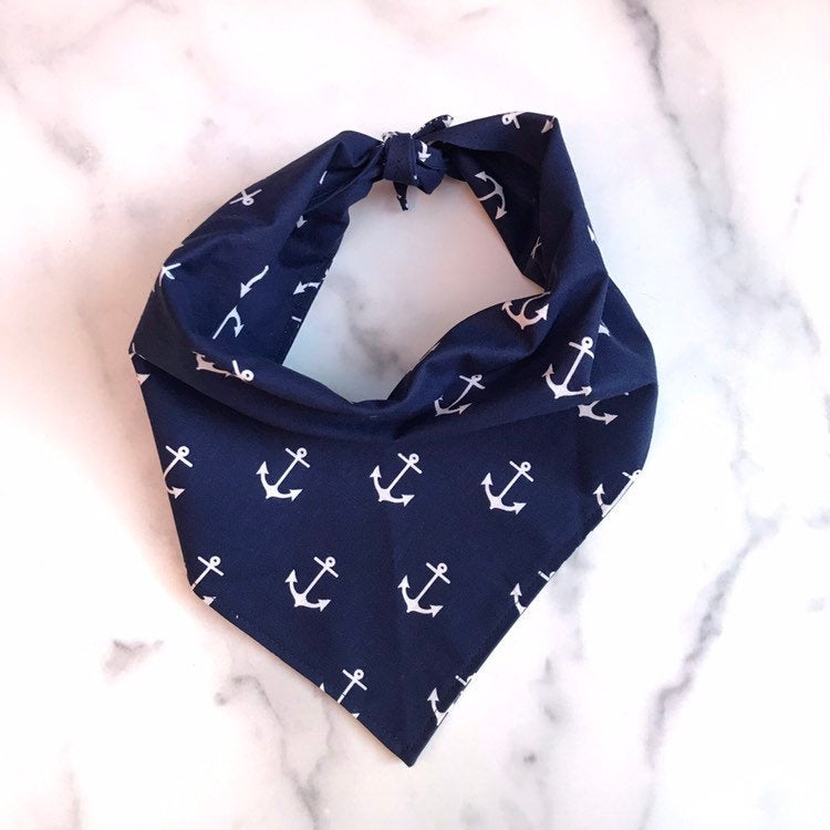 Anchor Dog Bandanna