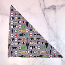 Load image into Gallery viewer, Sushi Dog Bandanna