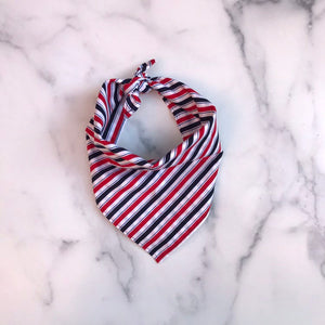 American Dog Bandana - Stripes