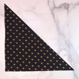 Diamonds Dog Bandana