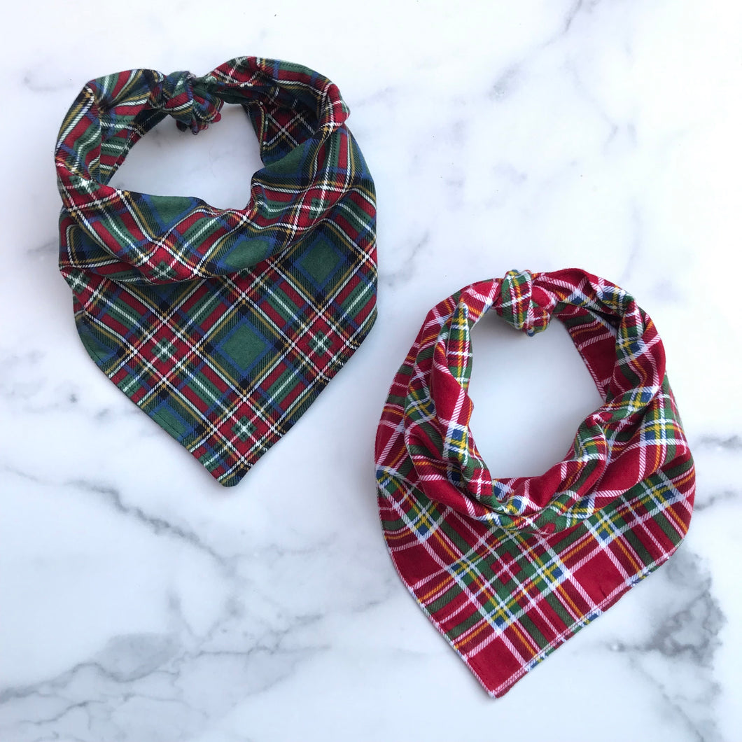 Limited Edition Christmas Morning Dog Bandana Set