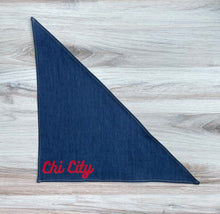 Load image into Gallery viewer, Chicago Chi City Dog Bandana