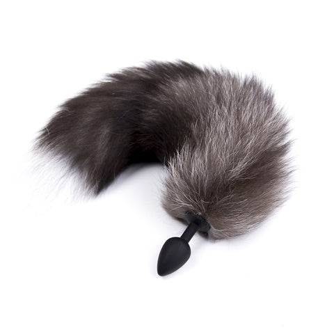 Fox Tail Anal Toys Plush Silica Gel Plug Sex Toys for Women Man Couple Gay BDSM Toy Cosplay Anal Tail Homosexual Animal Tail - JadoreBDSM.com