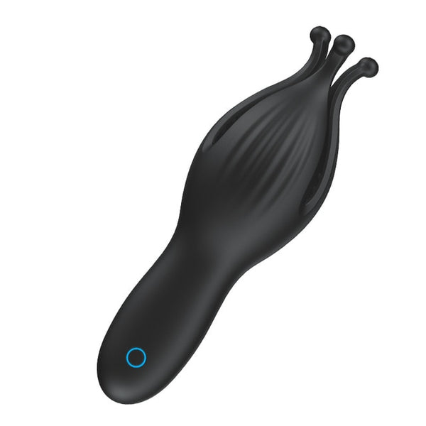 FLXUR 10 modes penis Delay Trainer Male Masturbator Vibrator Automatic Oral Climax Sex Glans Stimulate Massager Sex Toys for Men - JadoreBDSM.com