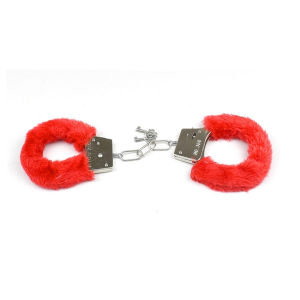 Exotic Bdsm Bondage Toys Sex Game PU Fur Handcuffs Ankle Cuffs Sexy Fun Butt Plug Sexo Anal Plug Lingeri Porn Sex Toys For Woman - JadoreBDSM.com