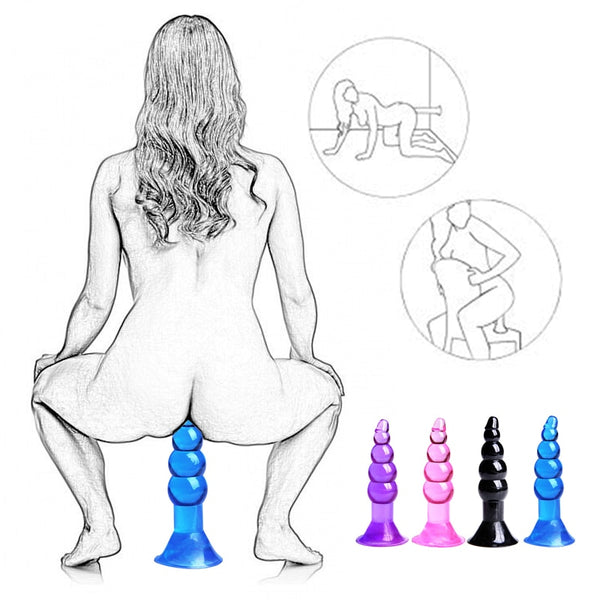 Realistic Dildo Anal Plug Sex Toys For Woman Couples No G Spot Vibrator Butt Plug Strap On Penis Suction Cup Silicone Sex Shop -