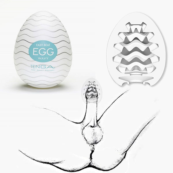 Tenga Egg Male masturbator Sex Toys For Men Masturbation Penis Sex Pocket Pussy Vagina With Lubricant male masturbator - JadoreBDSM.com