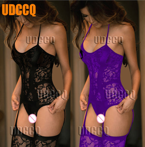 Sexy FishNet Lingerie Babydoll baby doll dress wedding night Underwear intimates Chemises Body stocking costumes Negligees 9911 - JadoreBDSM.com