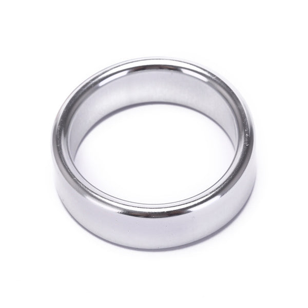 Metal Penis Ring For Men Sex Toys Aluminum Alloy Delay Cock Ring Cockring Ball Stretcher Adult Sex Toys For Couples - JadoreBDSM.com