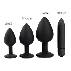 Adult Diary Silicone Anal Plug Jewelry Dildo Vibrator Sex Toys for Woman Prostate Massager Bullet Vibrador Butt Plug For Men Gay -