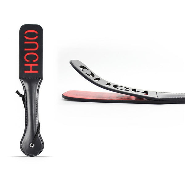 Slave Bitch Slut SM Flog Spank Paddle Beat Submissive Slave BDSM Pink Kinky Fetish Whip Sluts Paddles Adult Sex Toys - JadoreBDSM.com