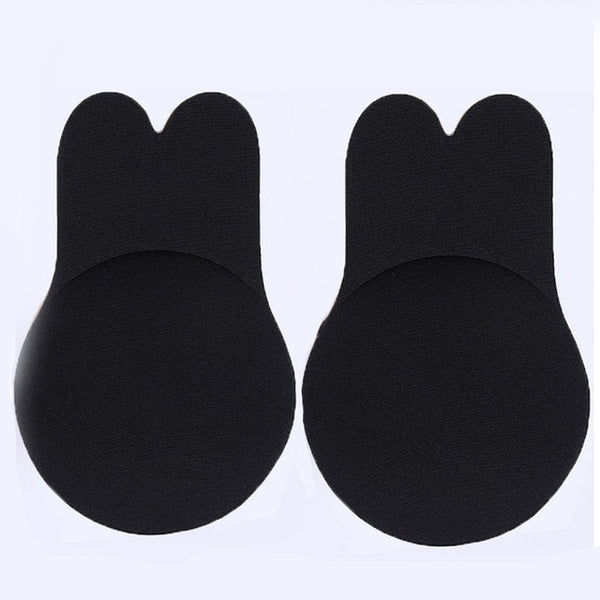 Strapless Adhesive Bra Self Adhesive Nipple Breast Pasties Cover Reusable Silicone Invisible Lingerie Pad Enhancers Push Up Bra - JadoreBDSM.com