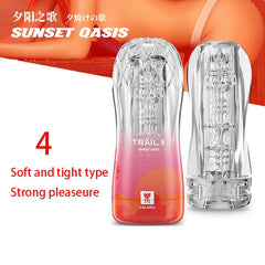 Male Masturbator Cup Soft Pussy Sex Toys Transparent Vagina Adult Endurance Exercise Sex Products Vacuum Pocket Cup for Men - JadoreBDSM.com