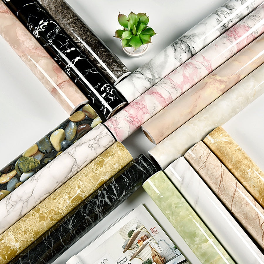 Waterproof Marble Wallpaper - Sineeko