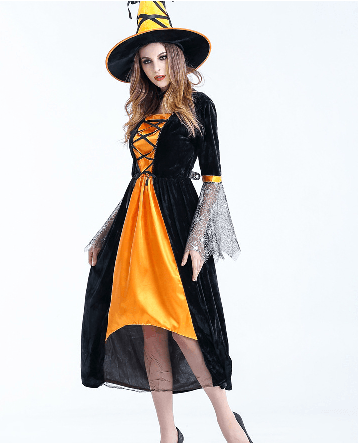 Complete Halloween Witch Costume