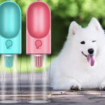 Portable Antibacterial Dog Cat Pet Water Bottle