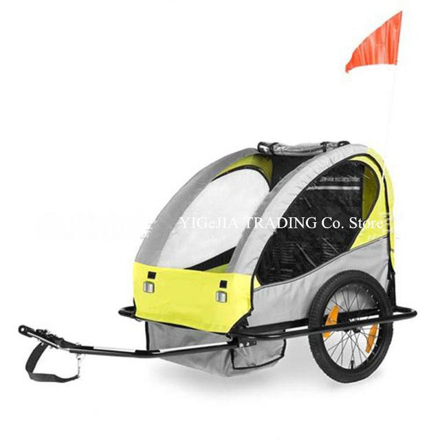 Twins Kids Bike Bicycle Trailer