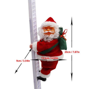 Climbing Santa Claus Christmas Decoration Ornaments