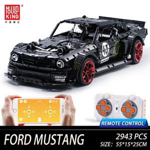 Building Remote Car Lamborghini Lego Mould King Puzzle