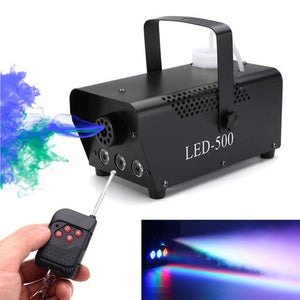Remote Control Smoke Fog LED Machine