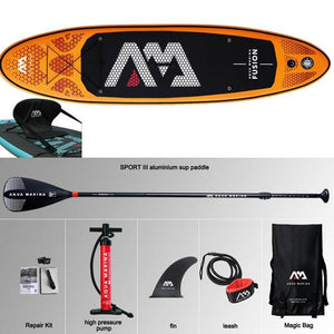 124x30x6in Inflatable Stand Up Paddle Board