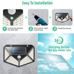 Outdoor Solar Lights LED 100