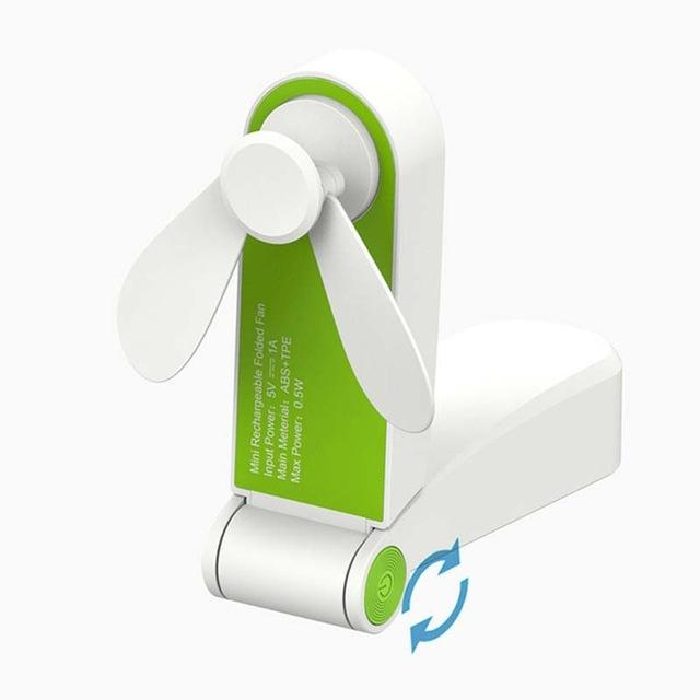 USB Mini Fan Neck Air Conditioner Cooler