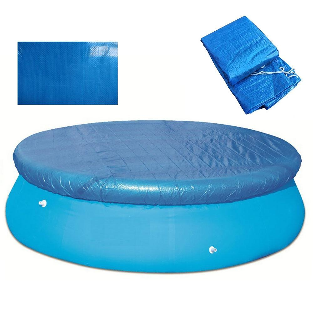 Swimming Round Pool Cover Ground