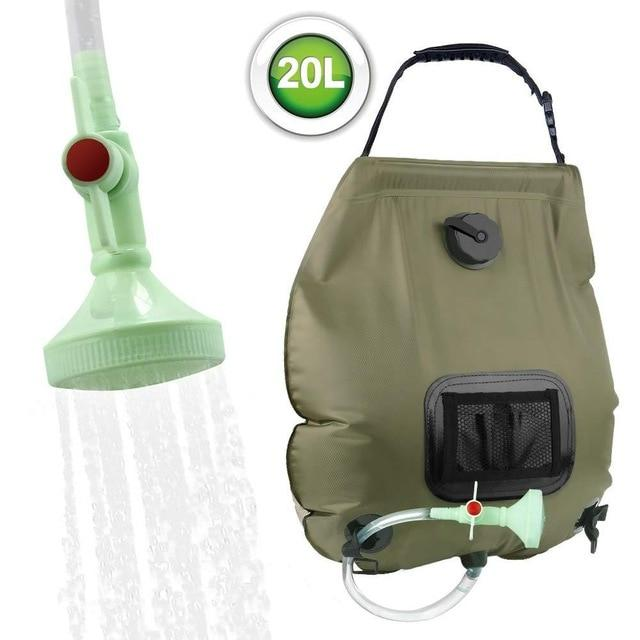 5/10 GAL Outdoor Camping Shower Kit