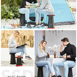 Retractable Folding Camping Chiar Stool