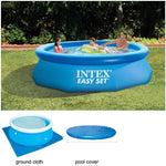 Intex Bestway 244cm 8ft Inflatable Above Ground Swimming Pool