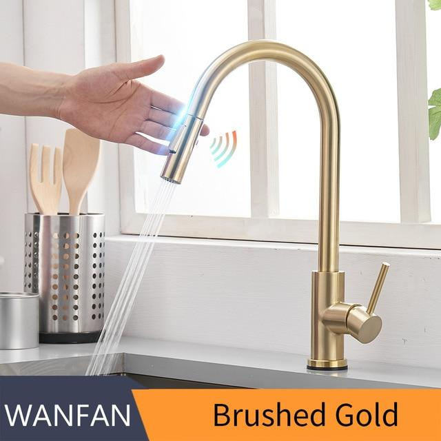 Smart Touch Touchless Kitchen Faucet