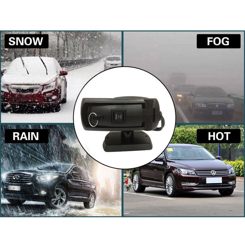 2-in-1 Portable Car Heater & Windshield Defroster
