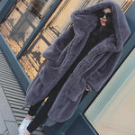 Oversized Fur Coat Women