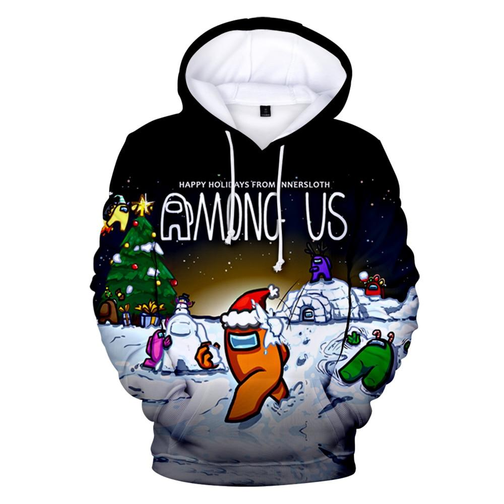 Among Us Merch Hoodie Sweatshirt Pullover Clothing