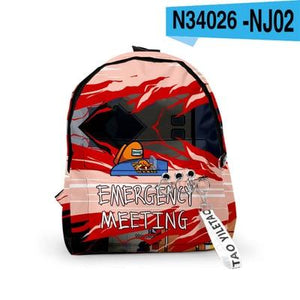 Among Us Merch Bag Backpack