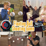 Floating Ball Gun Shoot Game