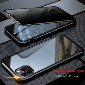 Anti Peeping Magnetic Case for iPhone 12 Mini Pro ProMax