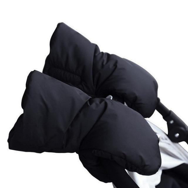 Fleece Stroller Hand Muff, BETITETO Winter Anti-Freeze Gloves for Baby Stroller Jogger Pram Water Resistant Warmer
