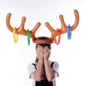 Christmas Reindeer Ring Toss Game