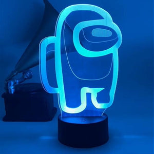 Among Us Merch Neon Sign LED Light Up Lamp v2