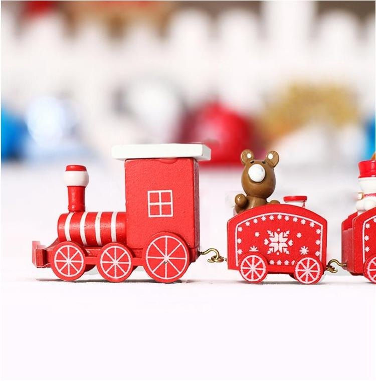 4 Knots Christmas Train Painted