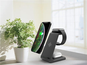 3 in 1 Wireless Charger Samsung iPhone